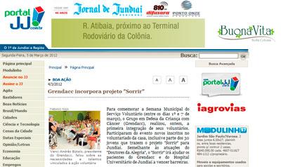 Thumb Site: Jornal de Jundiaí